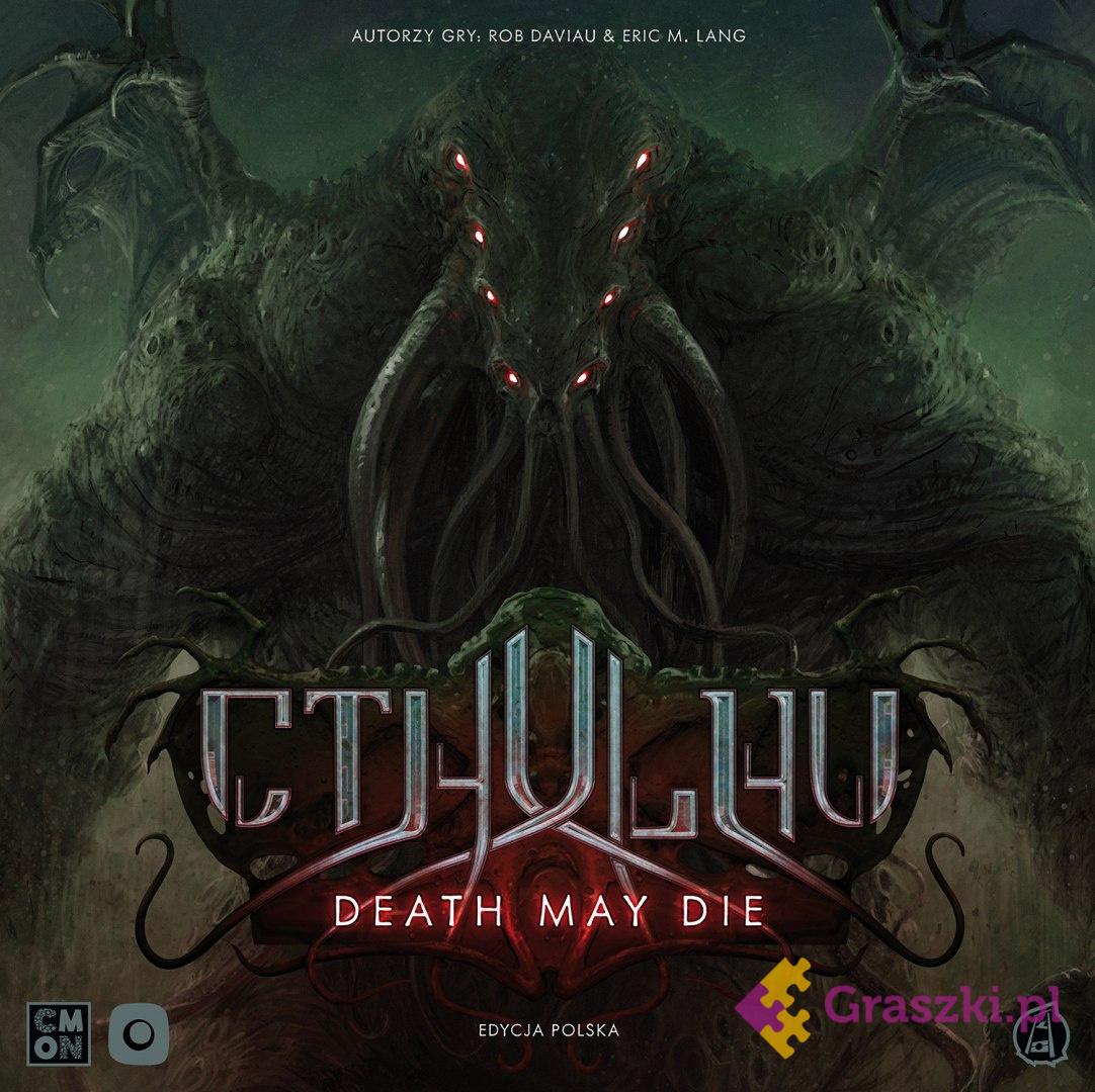 Cthulhu: Death May Die | Delikatnie naderwana folia // darmowa dostawa od 249.99 zł // wysyłka do 24 godzin! // odbiór osobisty w Opolu
